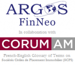 ARGOS FinNeo and CORUM Asset Management's glossary on French SCPIs